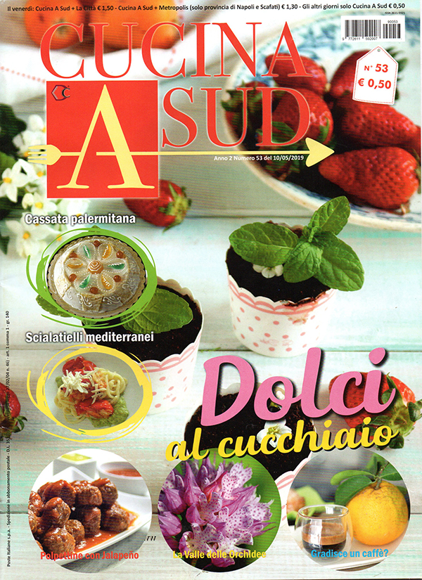 """la copertina di una rivista di Cucina """"Cucina a Sud"""""""