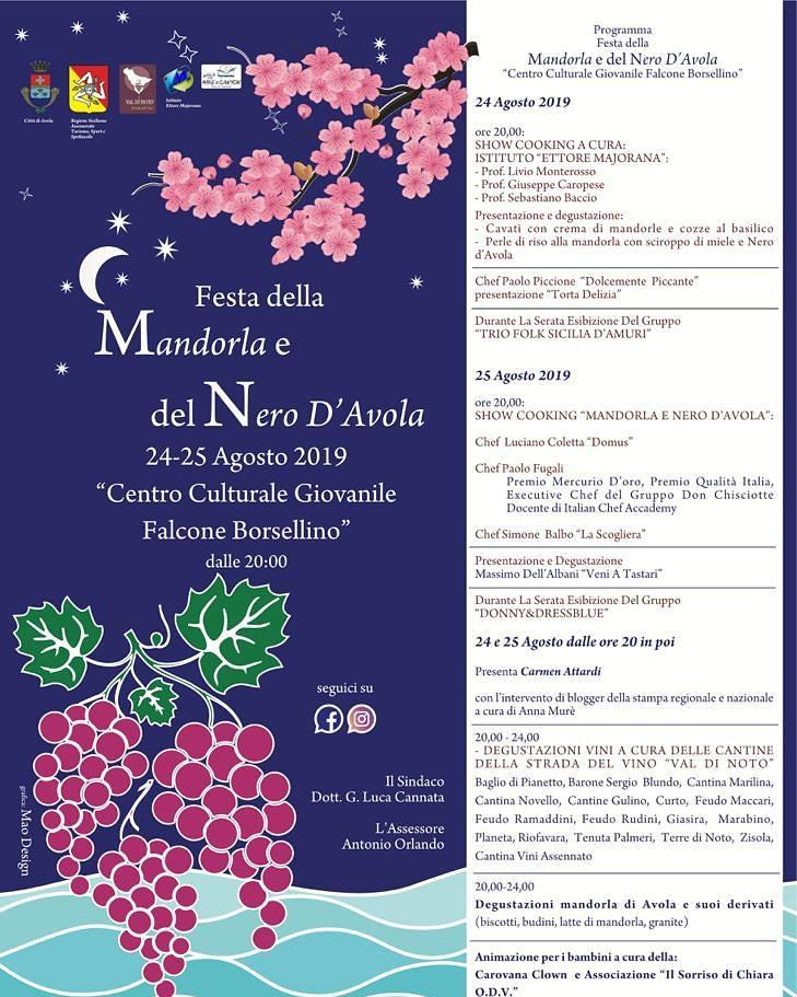 Festa della mandorla e del Nero d'Avola
