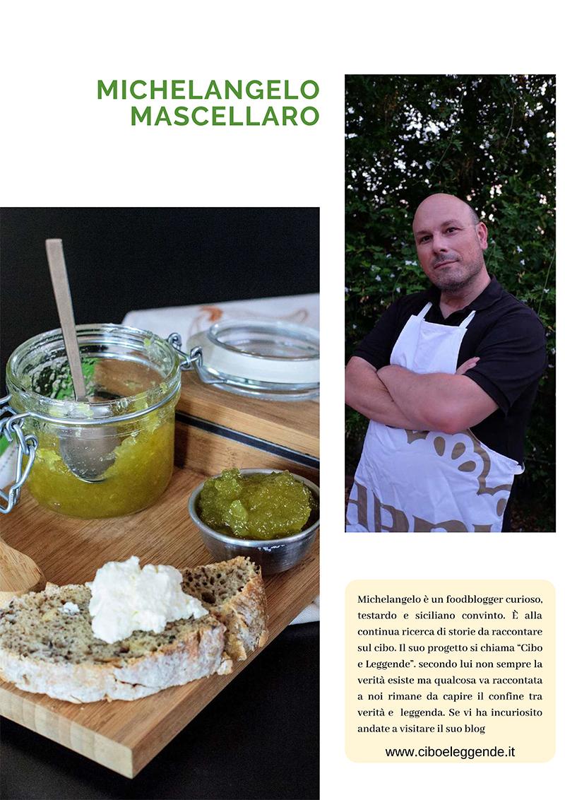 l'articolo della ricetta della Cucuzzata  su Enjoy food Magazine