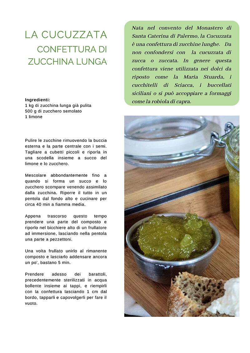l'articolo della ricetta della Cucuzzata su Enjoy food Magazine seconda pagina