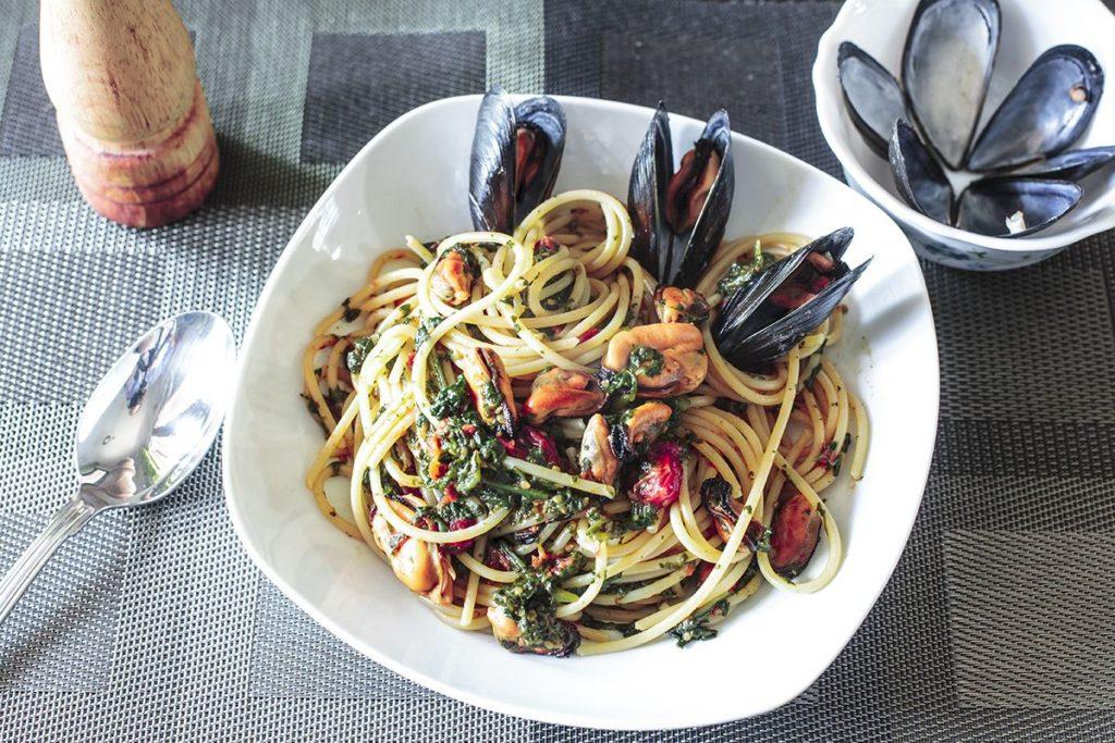 Spaghetti Tenerumi e Cozze