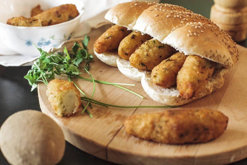 Crocchè di patate o cazzilli palermitani