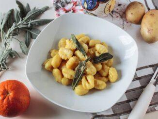 gnocchi di patate alla crema d'arancia