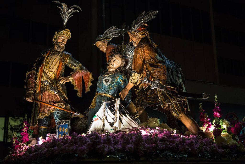 La processione dei misteri di Trapani